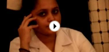 Indian femdom spanking